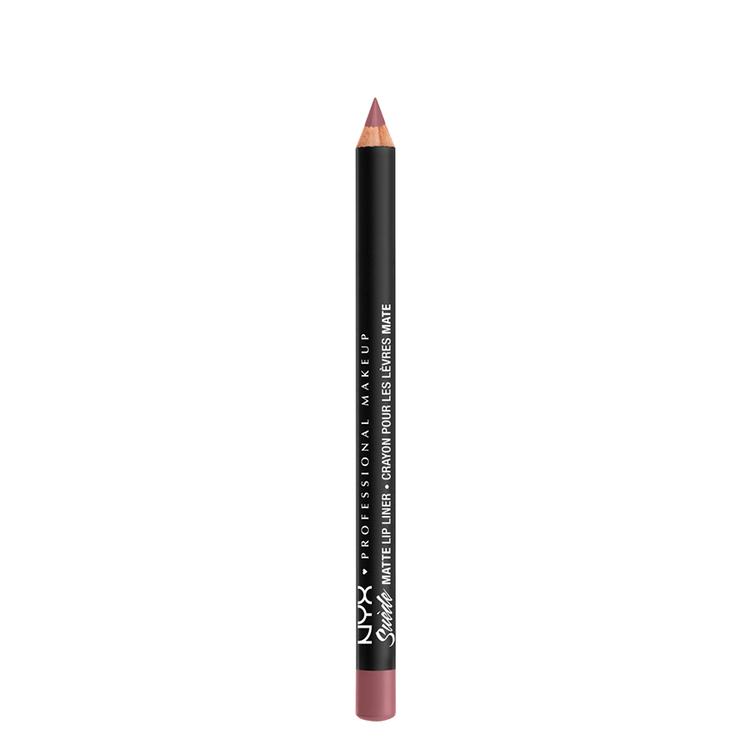 NYX Professional Makeup スエード マット リップライナー A 62 カラー・ ラベンダー&レース
