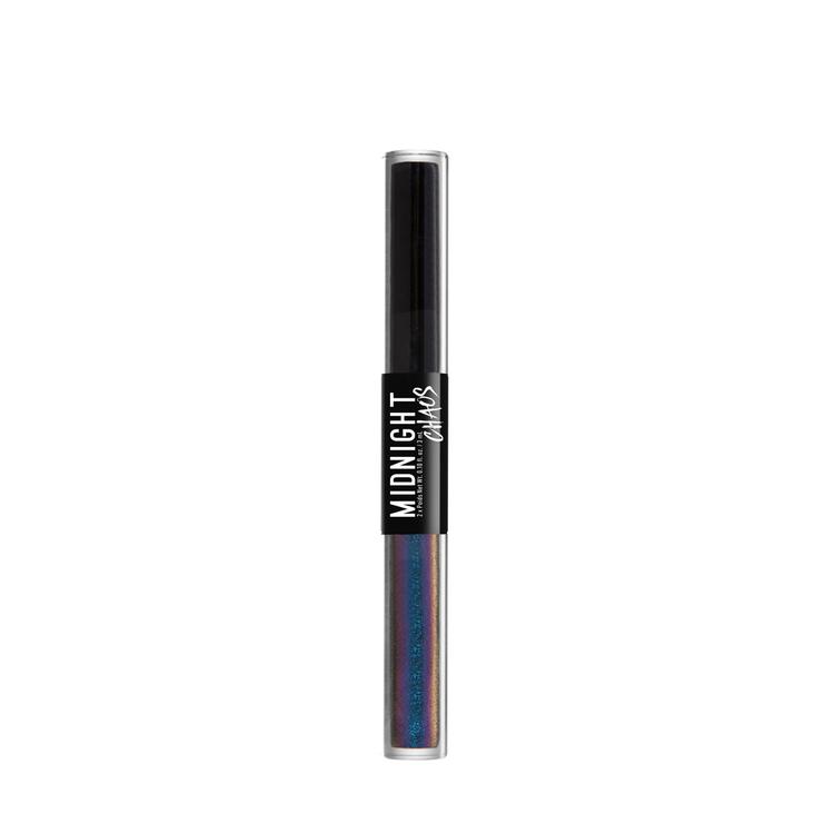 NYX Professional Makeup ミッドナイトカオス デュアルエンデッド アイライナー 01 カラー・ ブラック/ミスティカリズム