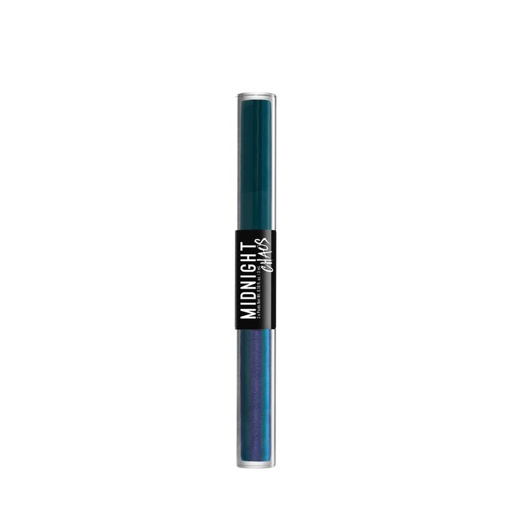 NYX Professional Makeup ミッドナイトカオス デュアルエンデッド アイライナー 02 カラー・ ティール/メタフィジカル