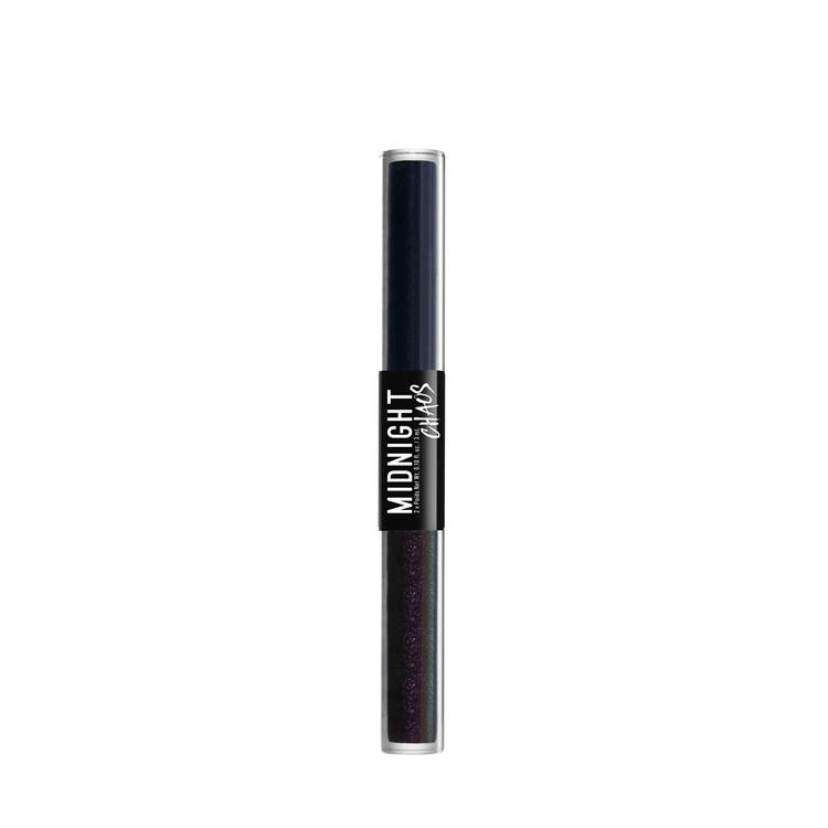 NYX Professional Makeup ミッドナイトカオス デュアルエンデッド アイライナー 03 カラー・ ブルー/ミッドナイトウォーリアー