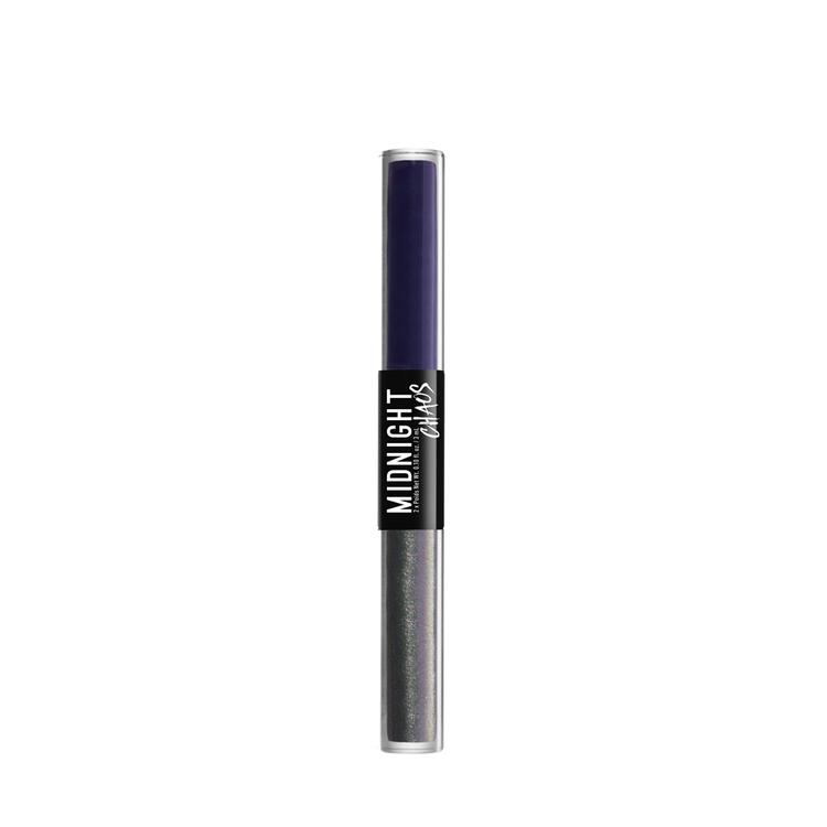 NYX Professional Makeup ミッドナイトカオス デュアルエンデッド アイライナー 04 カラー・ パープル/ミラーイメージ
