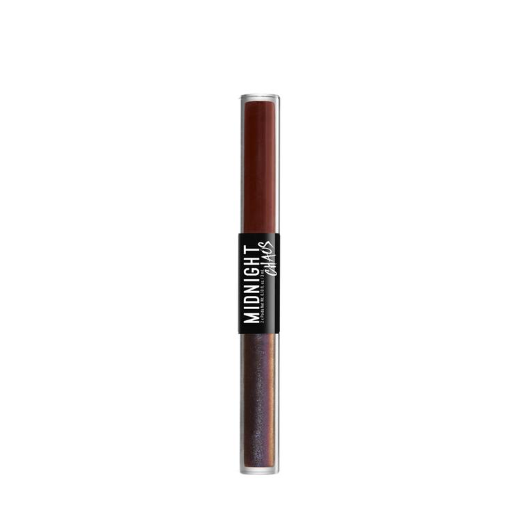 NYX Professional Makeup ミッドナイトカオス デュアルエンデッド アイライナー 05 カラー・ ラスト/ミッドナイト ルージュ