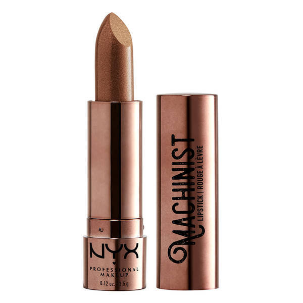 NYX Professional Makeup マシニスト リップスティック 01 カラー・ グリンド