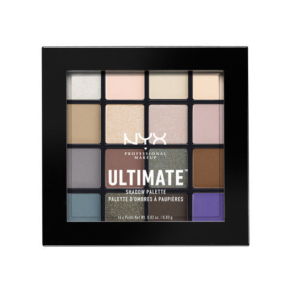 NYX Professional Makeup UT シャドウ パレット 02 カラー・クール ニュートラル