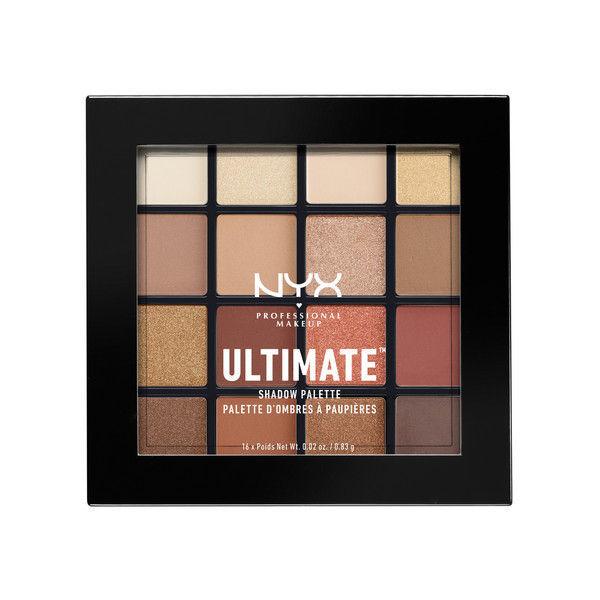 NYX Professional Makeup UT シャドウ パレット 03 カラー・ウォーム ニュートラル