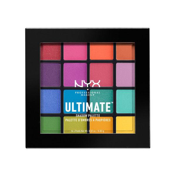 NYX Professional Makeup UT シャドウ パレット 04 カラー・ブライト