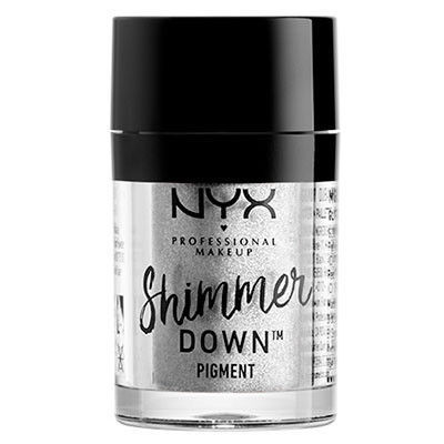 NYX Professional Makeup シマー ダウン ピグメンツ 02カラー・プラチナム