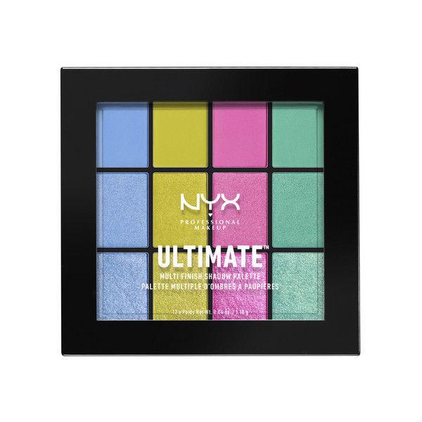 NYX Professional Makeup UT シャドウ パレット - ミックス フィニッシュ 05カラー・エレクトリック