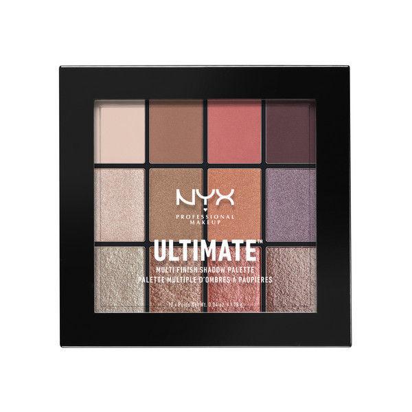 NYX Professional Makeup UT シャドウ パレット - ミックス フィニッシュ 06カラー・シュガー ハイ