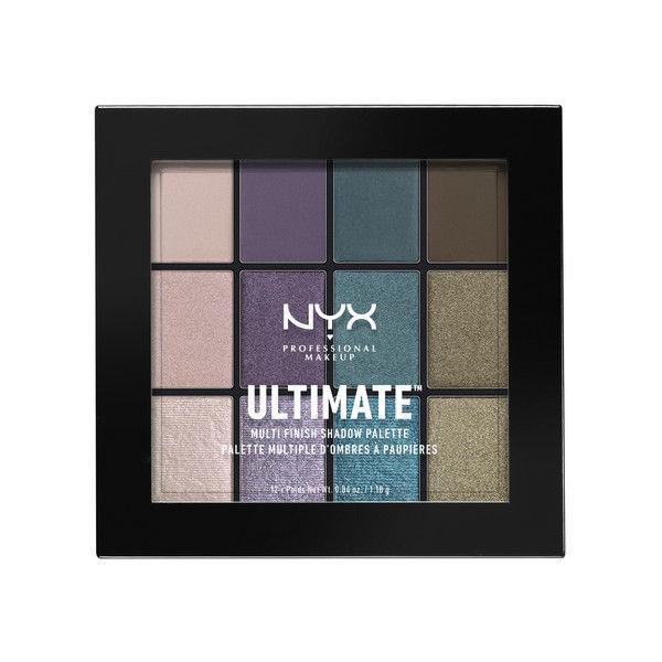 NYX Professional Makeup UT シャドウ パレット - ミックス フィニッシュ 07カラー・スモーク スクリーン